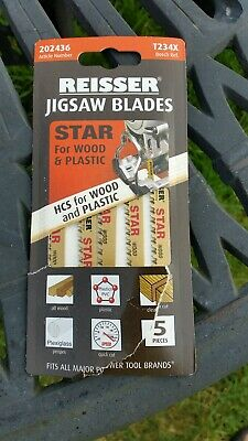 Reisser T234X jigsaw blades for wood and plastic - brand new