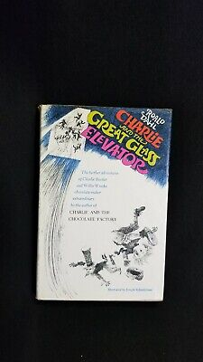 Charlie and the Great Glass Elevator, Roald Dahl, DJ, 1st Edition,1972
