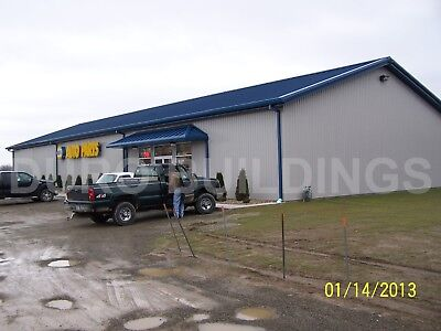 DuroBEAM Steel 75x150x20 Metal I-Beam Building Kits Clear Span Structures DiRECT