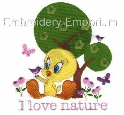 Tweety Living Green Collection - Machine Embroidery Designs On Cd Or Usb