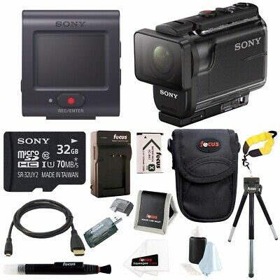 Sony AS50R Full HD 1080p Action Cam Camcorder with Live View Remote  & 32GB SD C