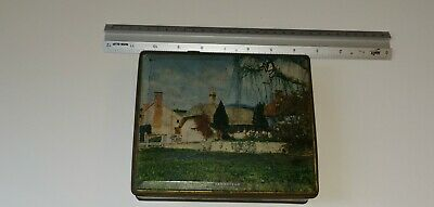 """""""Farmstead"""" - old confection / toffee / sweet tin. Made by Edward Sharp and Sons"""