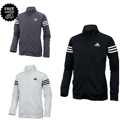 Adidas Boys 3 Stripe Tricot Track Jacket Original Iconic SZ Boys S, M, 8,10-12