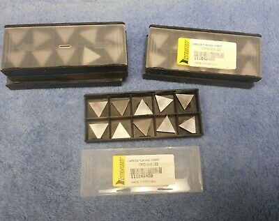 10-PK Interstate SPG424 Grade i22 Carbide Turning Inserts Uncoated 1//2 1//8 1//16
