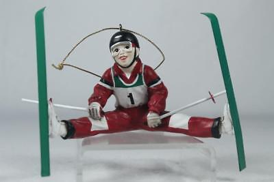'Extreme Skier' Boy Fun Ornament - By Kurt Adler #W20154 NEW!