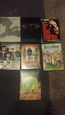 Lot of 7 DVD's all complete game of thrones rick and morty and more!