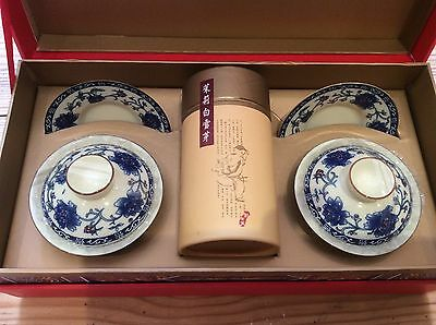Japanese tea service For Two Includes Tea Leaves Tea Drinking Ceremony Boxed