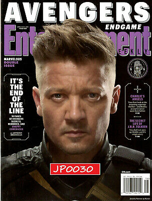 Entertainment Weekly Avengers Endgame 2019, Cover 6 of 6, New/Sealed