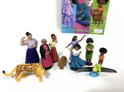 Wwe Wrestling Cake Toppers 10 Plastic Figures Brand New Free P&P