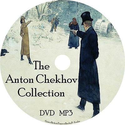 Anton Chekhov Audio Book Collection Unabridged on 1 MP3 DVD Fiction English
