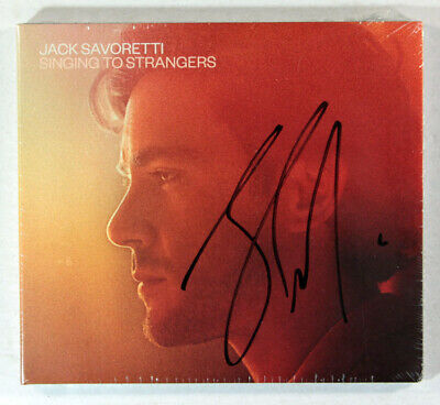 Jack Savoretti - Singing To Strangers (Limited CD Signed by Jack Savoretti) New