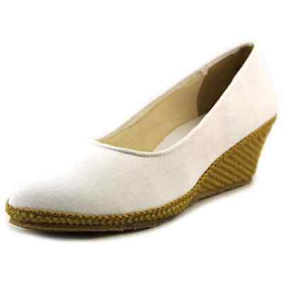 8573987d355 ANNE KLEIN WOMENS Teaberry Fabric Closed Toe Casual Platform