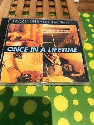 Talking Heads The Best Of Once In A Lifetime Cd Disc Vgc