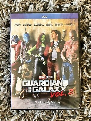Guardians of the Galaxy Volume 2 DVD Brand New with Free Shipping Marvel