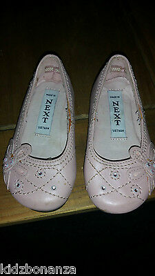 next pink ballet type shoes Girls Trainers Size 3 (Infant)