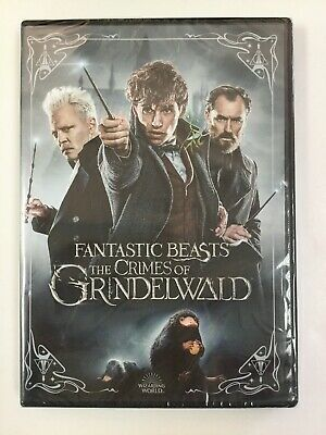 Fantastic Beasts: The Crimes of Grindelwald, DVD, Single Disc, Brand New Sealed!