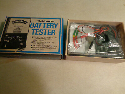 Vintage Micronta Battery Tester 22-030A