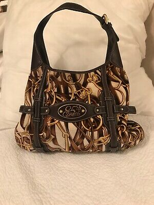 03386f396 Gucci 85th Anniversary Bag-WOW-Great Hobo velvet printed fabric w/leather  straps