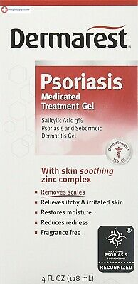 Dermarest Psoriasis Medicated Skin Treatment 4 fl. oz Removes Scales, Itching