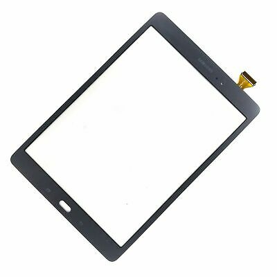 "Samsung Galaxy Tab A LCD Touch Screen Digitizer Front Glass Grey 9.7"" T550 T555"
