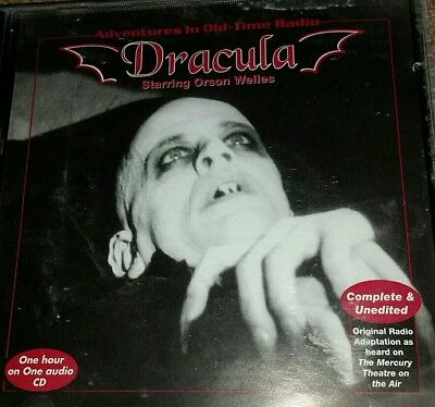 DRACULA starring Orson Wells / Mercury Theater - Old Time Radio  (OTR) Free Ship
