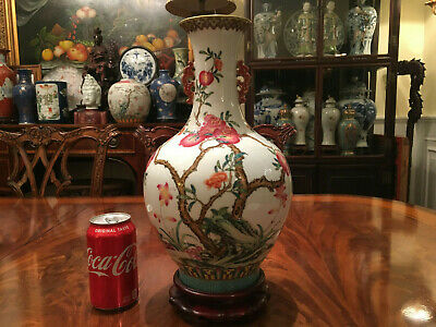 An Excellent Chinese Famille Rose Porcelain Vase, Marked.