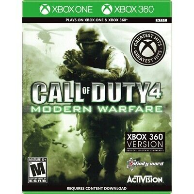 Call Of Duty 4: Modern Warfare Xbox 360 And One - For Xbox 360 And One - ESRB Ra