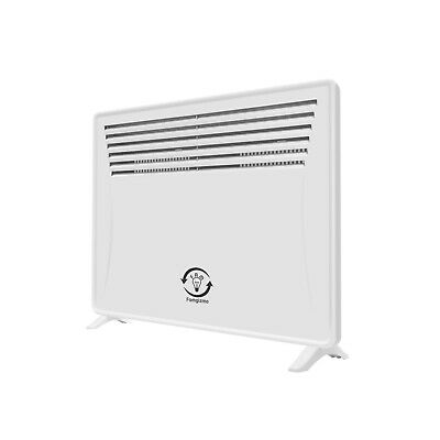 1200W Electric Panel Heater Radiator Thermostat Wall Mounted Standing Portable