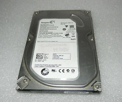 "Seagate BarraCuda 7200.12 500 GB,Internal,7200 RPM 3.5"" HDD - ST3500418AS"