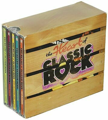 Heart of Classic Rock Box Set Time Life 10 CD 144 Hits NEW SEALED Free shipping