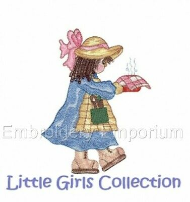 Little Girls Collection - Machine Embroidery Designs On Cd Or Usb