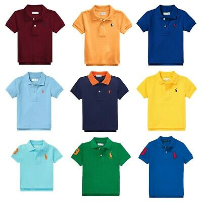 Genuine Ralph Lauren Polo baby boys Pony t Shirt cotton top age 3,6,9,12,18,24 m