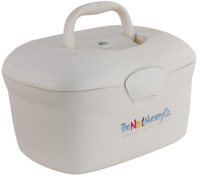 Brand new in box The neat nursery oval baby box organiser in pearl