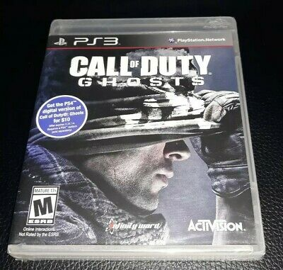 PS3 Call of Duty: Ghosts BRAND NEW FACTORY SEALED