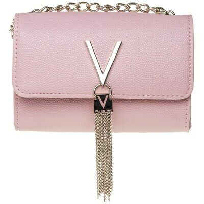 1ce82acaf5118 New Womens Valentino By Mario Valentino Pink Divina Synthetic Pu Handbag  Clutch