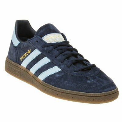 NEW MENS ADIDAS Navy Handball Spezial Nubuck Trainers Retro Lace Up
