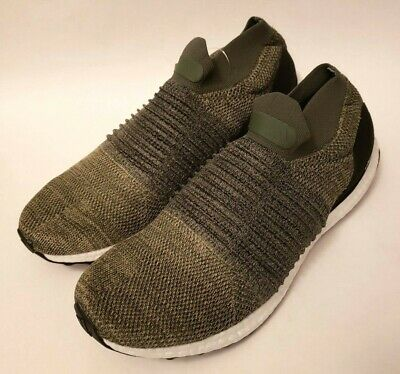 Adidas Ultra Boost Laceless Olive Trace Cargo CP9252 NEW MENS Size 10