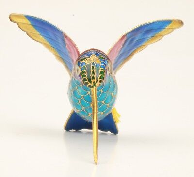 Exquisite Chinese Old Cloisonne Handmade Bird Statue Pendant Decoration