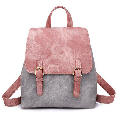 Women's Leather Backpack Anti-Theft Rucksack Stylsih School Shoulder Bags 6A