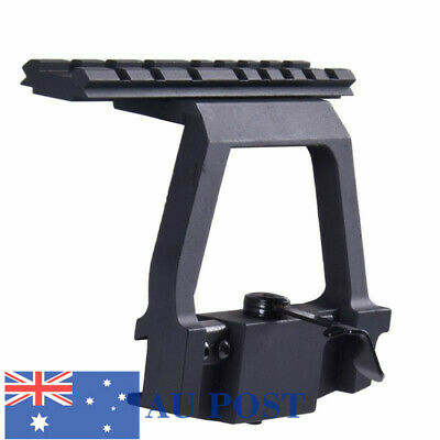Tactical 20mm Rail Side Base QD Lock Mount For 47U Side Airsoft Scope Hunting AU