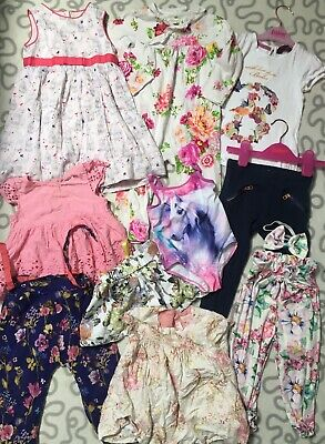 12-18 Months Girls Clothes Floral Bundle Next Ted Baker Monsoon Zara