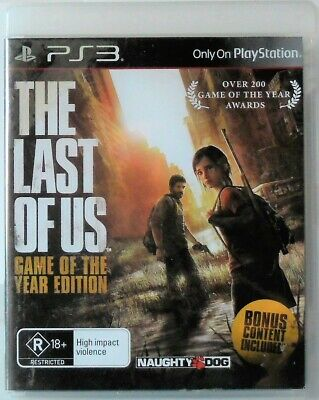 The Last of Us Game of The Year Edition PS3 Sony Playstion 3