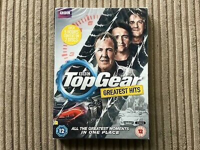 New & Sealed Top Gear Greatest Hits Dvd BBC Jeremy Clarkson