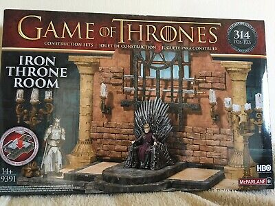 Game of Thrones - The Iron Throne Room HBO McFarlane Construction Set (Lego) NEW