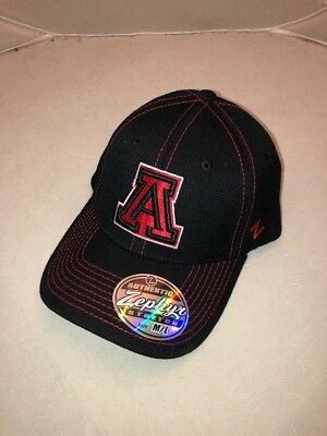 info for 6113a 39c87 University of Arizona Wildcats Stretch Fit Hat Cap by Zephyr