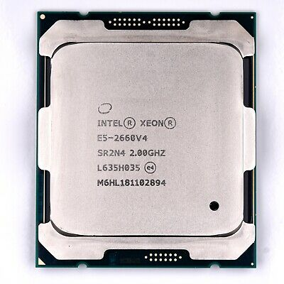 Intel Xeon E5 2660 V4 2.0GHz 14 Core CPU SR2N4