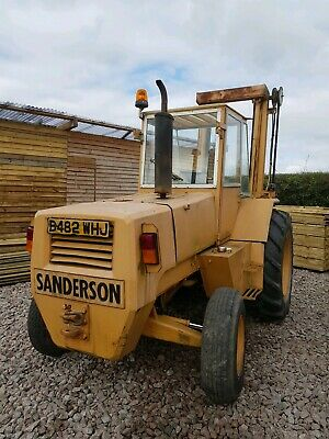 Sanderson Plm 50Tc Rough All Terrain Forklift Truck Tractor With Tipper Bucket