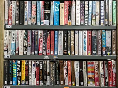 BIOGRAPHIES / AUTOBIOGRAPHIES: job lot box of approximately 70 mixed adult books