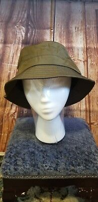 15ac46a4c21a00 Men's Bucket Hat Goodfellow & Co Green Olive M/L Strap Free msrp 15 Fish