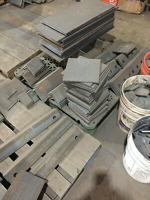 "1/""  HRO Steel Sheet Plate 8/"" x 11/"" Flat Bar A36 grade"